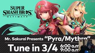 Highlight: pyra and mythra waiting room