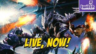 MONSTER HUNTER RISE UPDATE - Valstrax Huntin' & Power Rangers Later!? (5-27)