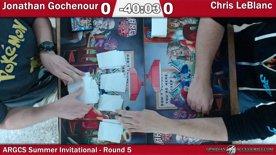 ARGCS Summer Invitational 2017 Round 5 Jonathan Gochenour vs Chis LebLanc