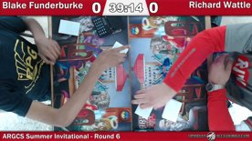 ARGCS Summer Invitational 2017 Round 6 Blake Funderburke vs Richard Wattle