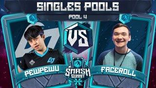 PewPewU vs Faceroll - Singles Pools: Pool 4 - Smash Summit 10 | Marth vs Sheik