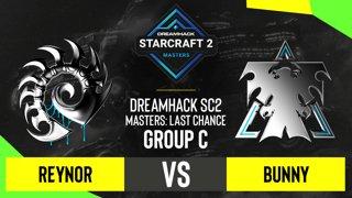 SC2 - Reynor vs. Bunny - DH SC2 Masters 2020: Last Chance 2021 - Group C
