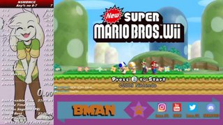 Bman 03 New Super Mario Bros Wii Any Speedrun In 25 27 Minutes