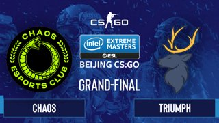 CS:GO - Chaos vs. Triumph [Train] Map 1 - IEM Beijing 2020 Online - Grand-Final - NA
