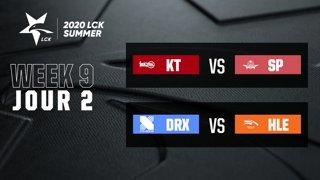 LCK Summer 2020 - W9D2