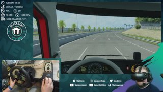 ShackStream: Euro Truck Simulator 2 Ibera DLC in VR