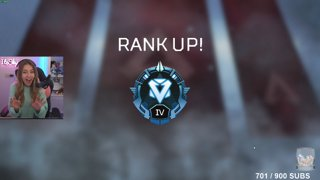 Highlight: First time reaching Diamond IV in Apex Legends