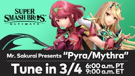 "Super Smash Bros. Ultimate - Mr. Sakurai Presents ""Pyra/Mythra"""