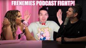 FRENEMIES Podcast FIGHT?! Trisha vs H3H3 PSYCHIC TAROT READING