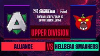 Dota2 - Alliance vs. Hellbear Smashers - Game 2 - DreamLeague S15 DPC WEU - Upper Division