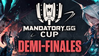 IGNITION SERIES x MANDATORY.GG CUP - DEMI-FINALE #1 [BO3] - G2 ESPORTS 1 - 0 BBL ESPORTS