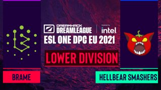 Dota2 - Brame vs. Hellbear Smashers - Game 2 - DreamLeague Season 14 DPC: EU - Lower Division