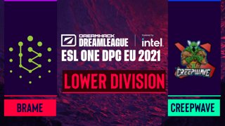 Dota2 - Brame vs. Creepwave - Game 2 - DreamLeague Season 14 DPC: EU - Lower Division