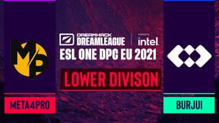 Dota2 - burjui vs. Meta4Pro - Game 2 - DreamLeague Season 14 DPC: EU - Lower Division