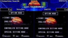Top 16. ShinyZeni vs Zeb316. Super Metroid 100% Tournament 2020.