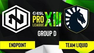 CS:GO - Endpoint vs. Team Liquid [Vertigo] Map 2 - ESL Pro League Season 13 - Group D