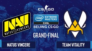 CS:GO - Natus Vincere vs. Team Vitality [Overpass] Map 3 - IEM Beijing 2020 Online - Grand-Final - EU