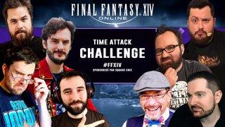 La Finale du Time Attack Challenge sur Final Fantasy 14 #SponsoriséParSquareEnix