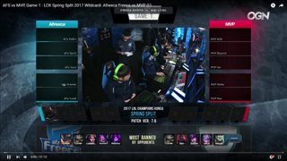 Afreeca vs MVP Wildcard Game1 VOD Review ft. Sam Sung