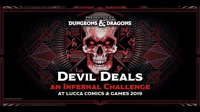 LUCCA 2019 - Live game - dnd on Twitch