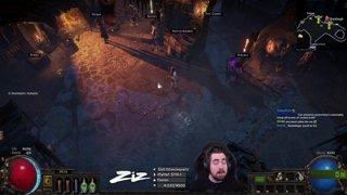 Zizaran - Build Week Day 3 - Kinetic Blast/Ele Hit Flamewall Spell Slinger!