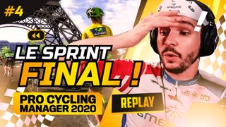 Le FINAL du Tour de France ! ► Fin de l'aventure Pro Cycling Manager 2020 #4