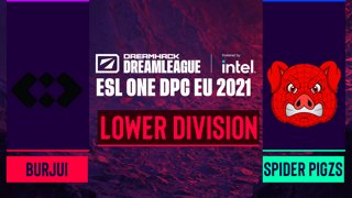 Dota2 - Spider Pigzs vs. burjui - Game 2 - DreamLeague Season 14 DPC: EU - Lower Division