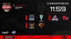 Destacado: Copa Claro Gamer  3 - Fase de Grupos - Séptima Fecha