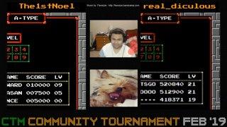 The1stNoel VS real_diculous | CTM Community Tournament Feb '19