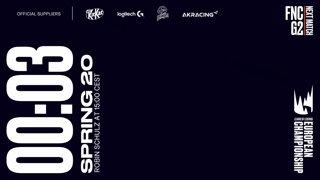 FNC vs. G2 | Finals | LEC Spring Split | Fnatic vs. G2 Esports (2020)