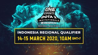 ONE Esports Dota 2 Indonesia Regional Qualifier - Day 1