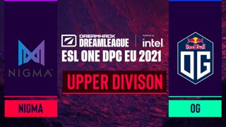 Dota2 - Team Nigma vs. OG - Game 1 - DreamLeague Season 14 DPC: EU - Upper Division