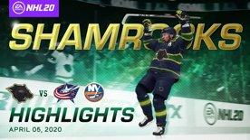 Philadelphia Shamrocks vs. COLUMBUS and ISLANDERS  HIGHLIGHTS