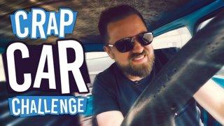 THE CRASH! | The Crap Car Challenge #2