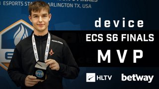 device - HLTV MVP by Betway of ECS Season 6 Finals