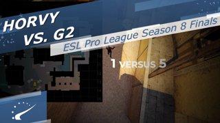horvy vs. G2 - ESL Pro League Season 8 Finals