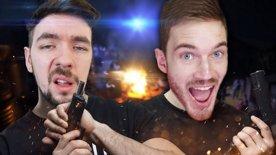 JACKSEPTICEYE KILLS PEWDIEPIE | Arizona Sunshine w/ Felix(HTC Vive Virtual Reality)