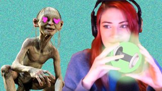 IRL! ASMR Gollum impressions for subs. *please write about me Polygon*