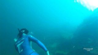 Diving Underwater Stream Part 2