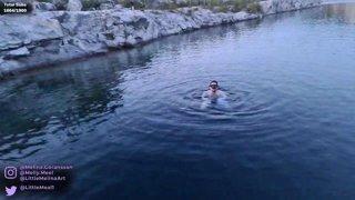 Diving Underwater Stream Part 3