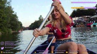 Kayaking in Hamburg!