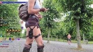 Lara Croft Cosplay Part 1