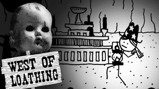 CREEPY DOLLS.... YAY, LUCKY ME!! | West of Loathing Part 6