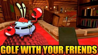 GET DUNKED ON, MR. KRABS! | Golf With Your Friends Gameplay Part 41