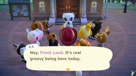 Animal Crossing: New Horizons | Day 014 / K.K. Slider Concert