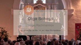Serge Rachmaninov: Vocalise Op. 34 No. 14 (arr. Alan Richardson) Olga Scheps live