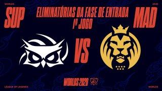 Mundial 2020: Eliminatórias da Fase de Entrada - Dia 1 | Papara SuperMassive x MAD Lions (1º Jogo)