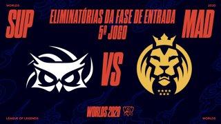 Mundial 2020: Eliminatórias da Fase de Entrada - Dia 1 | Papara SuperMassive x MAD Lions (5º Jogo)