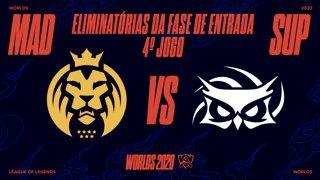 Mundial 2020: Eliminatórias da Fase de Entrada - Dia 1 | MAD Lions x Papara SuperMassive (4º Jogo)