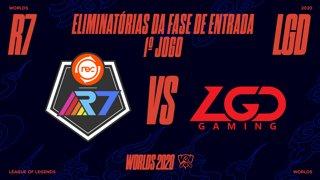 Mundial 2020: Eliminatórias da Fase de Entrada - Dia 1 | Rainbow7 x LGD Gaming (1º Jogo)